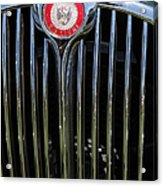 1962 Jaguar Mark II 5d23329 Acrylic Print by Wingsdomain Art and Photography