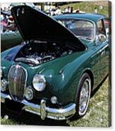 1962 Jaguar Mark II 5d23332 Acrylic Print by Wingsdomain Art and Photography