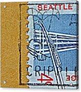 1962 Seattle World's Fair Stamp Acrylic Print
