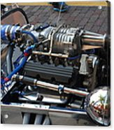 1962 V6 Lotus Engine Acrylic Print