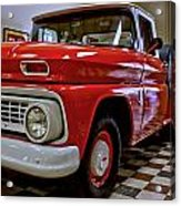 1963 Chev Pick Up Acrylic Print