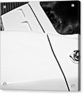 1963 Chevrolet Corvette Split Window -556bw Acrylic Print