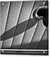 1963 Chevrolet Corvette Split Window Door Latch -295bw Acrylic Print