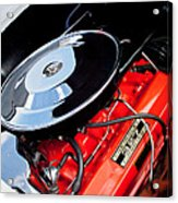 1963 Chevrolet Corvette Split Window Engine -147c Acrylic Print