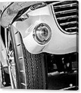 1963 Chevrolet Corvette Split Window Grille -209bw Acrylic Print
