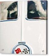1963 Chevrolet Corvette Split Window Wheel Emblem -118c Acrylic Print