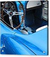 1963 Corvette Driver Approach Acrylic Print