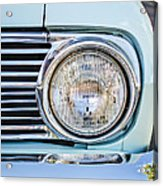 1963 Ford Falcon Futura Convertible Headlight - Hood Ornament Acrylic Print