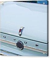1963 Ford Falcon Futura Convertible  Rear Emblem Acrylic Print by Jill Reger