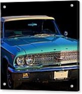 1963 Ford Galaxy Acrylic Print