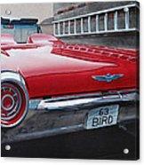 1963 Ford Thunderbird Acrylic Print