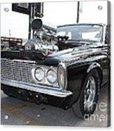 1963 Plymouth Modified Sedan Acrylic Print