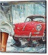 1963 Porsche 356 C Acrylic Print