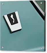 1963 Studebaker Avanti Emblem Acrylic Print