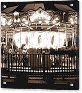 1964 Allan Herschell Carousel Acrylic Print