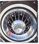 Bonneville Aluminum Rims 1964 Acrylic Print