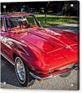 1964 Chevy Corvette Coupe  Acrylic Print