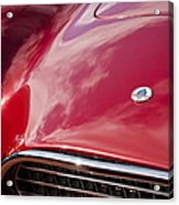 1964 Shelby 289 Cobra Grille -0840c Acrylic Print