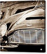 1965 Aston Martin Db6 Short Chassis Volante Grille Acrylic Print