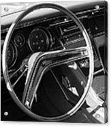 1965 Buick Riviera Steering Wheel Acrylic Print