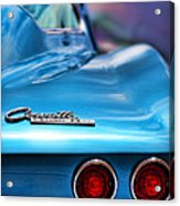 1965 Chevrolet Corvette Stingray Acrylic Print