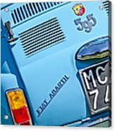 1965 Fiat Taillight Acrylic Print