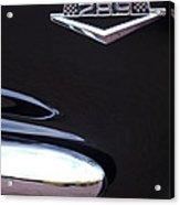 1965 Ford Mustang Gt 289 Emblem -0309c Acrylic Print