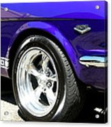1965 Ford Mustang Gt350 Muscle Car Acrylic Print
