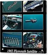 1965 Plymouth Satellite Acrylic Print