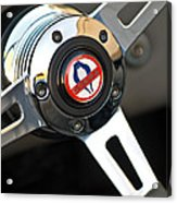 1965 Shelby Cobra 427 Steering Wheel Emblem Acrylic Print