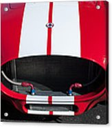 1965 Shelby Cobra Front Grille - Emblem Acrylic Print