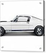 1965 Shelby Gt350 Mustang Retro Sports Car Acrylic Print