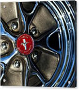 1965 Shelby Prototype Ford Mustang Wheel Acrylic Print