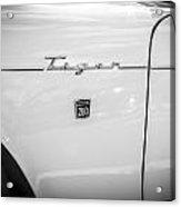 1965 Sunbeam Tiger 260 V8 Bw Acrylic Print