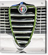1966 Alfa Romeo Gtc Grille Emblem -1438c Acrylic Print