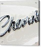 1966 Chevrolet Biscayne Emblem -0101c Acrylic Print