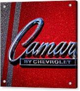 1966 Chevy Camaro Acrylic Print