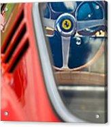 1966 Ferrari 275 Gtb Steering Wheel -0408c Acrylic Print