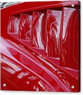 1966 Ford Mustang Gt Side Scoops -032c Acrylic Print