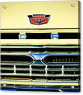 1966 Ford Pickup Truck Grille Emblem Acrylic Print