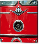 1966 International Harvester Pumping Ladder Fire Truck - 549 Ford Gas Motor Acrylic Print