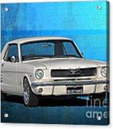 1966 Mustang Acrylic Print