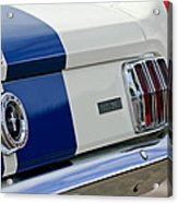 1966 Shelby Gt 350 Taillight Acrylic Print