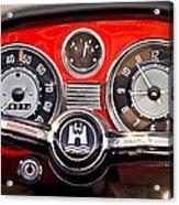 1966 Volkswagen Vw Karmann Ghia Steering Wheel Acrylic Print