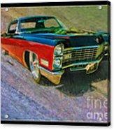 1967 Cadillac Coupe Acrylic Print