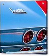 1967 Chevrolet Corvette Taillights Acrylic Print