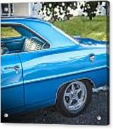 1967 Chevrolet Nova Super Sport  Acrylic Print