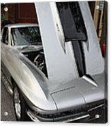 1967 Chevy Corvette Acrylic Print