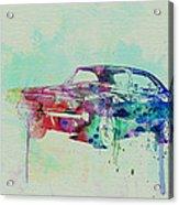 1967 Dodge Charger  2 Acrylic Print by Naxart Studio
