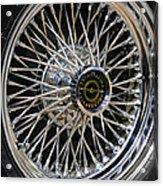 1967 Ford Thunderbird Wire Wheel Acrylic Print